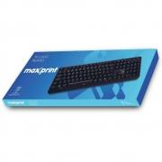 TECLADO USB MAXPRINT 608145 PRETO