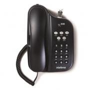 TELEFONE COM CHAVE INTELBRAS TC500 PRETO