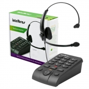 TELEFONE HEADSET AURICULAR INTELBRAS HSB50
