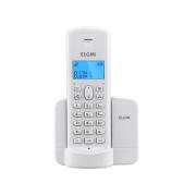 TELEFONE SEM FIO 1.9GHZ COM IDENTIFICADOR ELGIN TSF8001 BRANCO