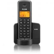 TELEFONE SEM FIO 1.9GHZ COM IDENTIFICADOR ELGIN TSF8001 PRET0