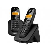 TELEFONE SEM FIO INTELBRAS COM RAMAL ADICIONAL E INDENTIFICADOR DE CHAMADAS TS3112 PRETO