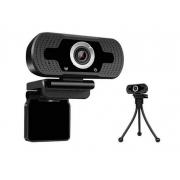 WEBCAM FULL HD 1080P C/ TRIPE LOOSAFE PRETA