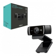 WEBCAM HD 1080P LOGITECH C922 PRETA