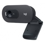 WEBCAM HD 720P LOGITECH C505 PRETA