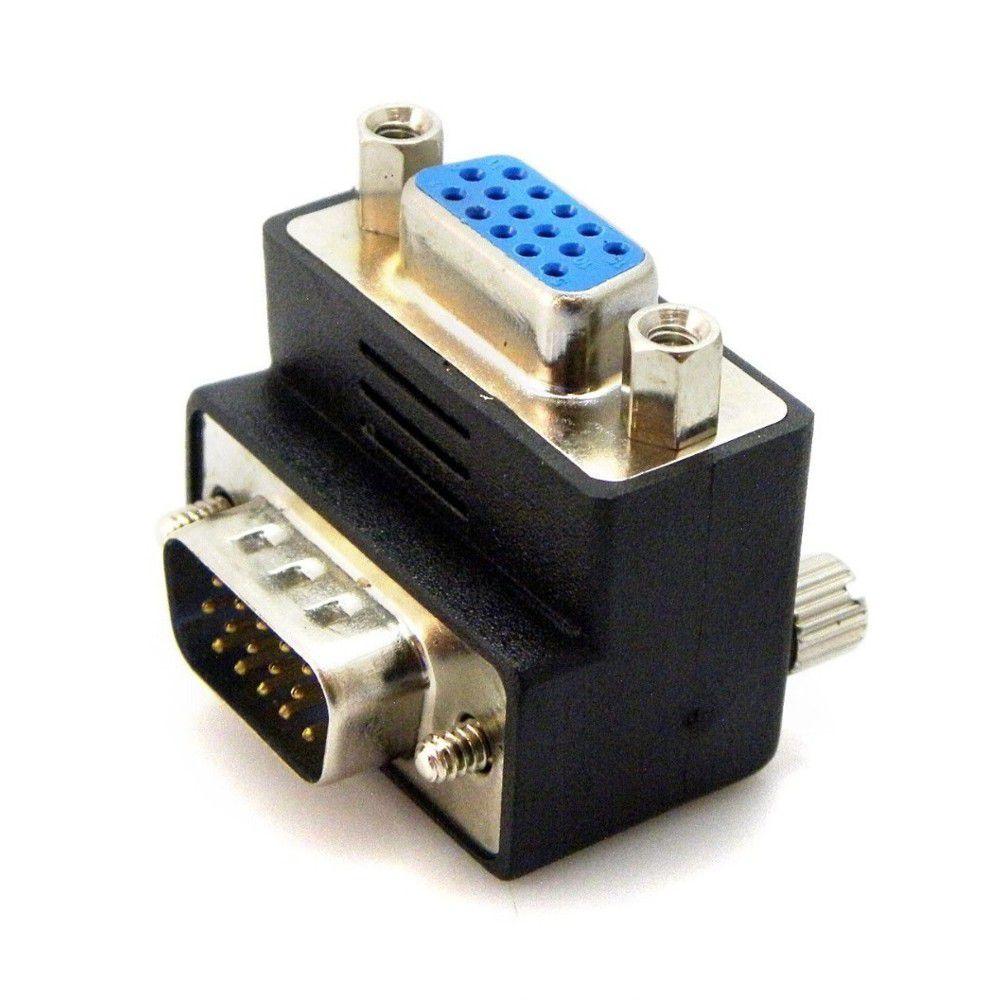 ADAPTADOR VGA MACHO X FEMEA 90  EXBOM