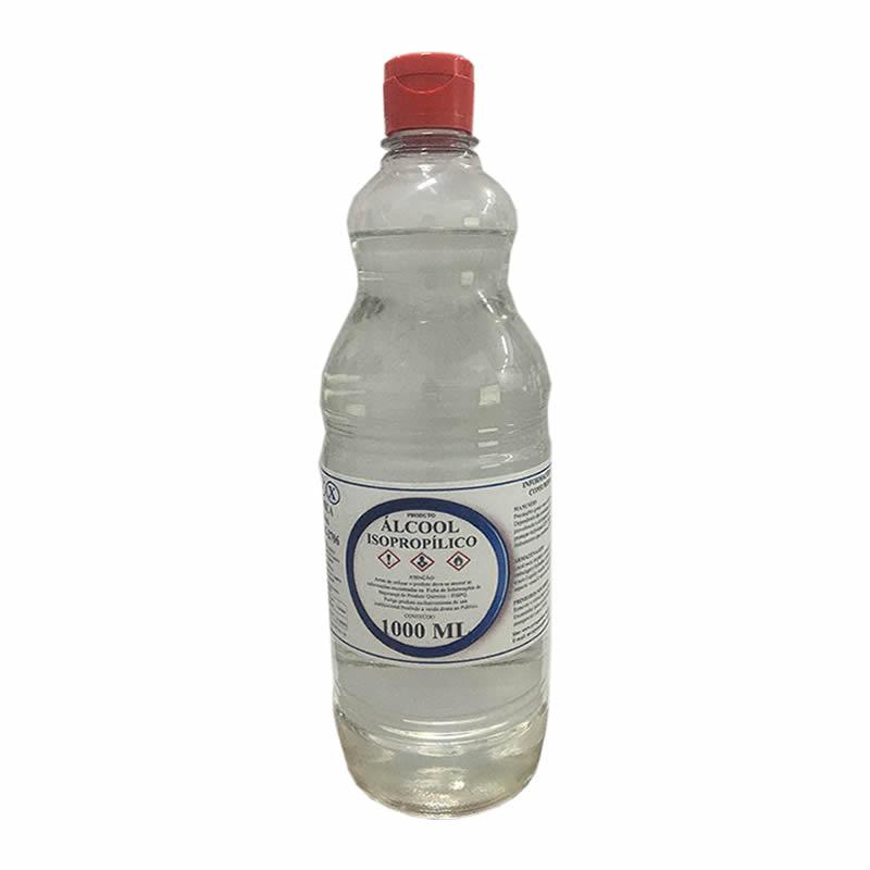 ALCOOL ISOPROPANOL 99,8%  01 LITRO IMPLASTEC / MVX QUIMICA