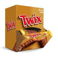 BOMBOM DE CHOCOLATE AO LEITE TWIX 15G