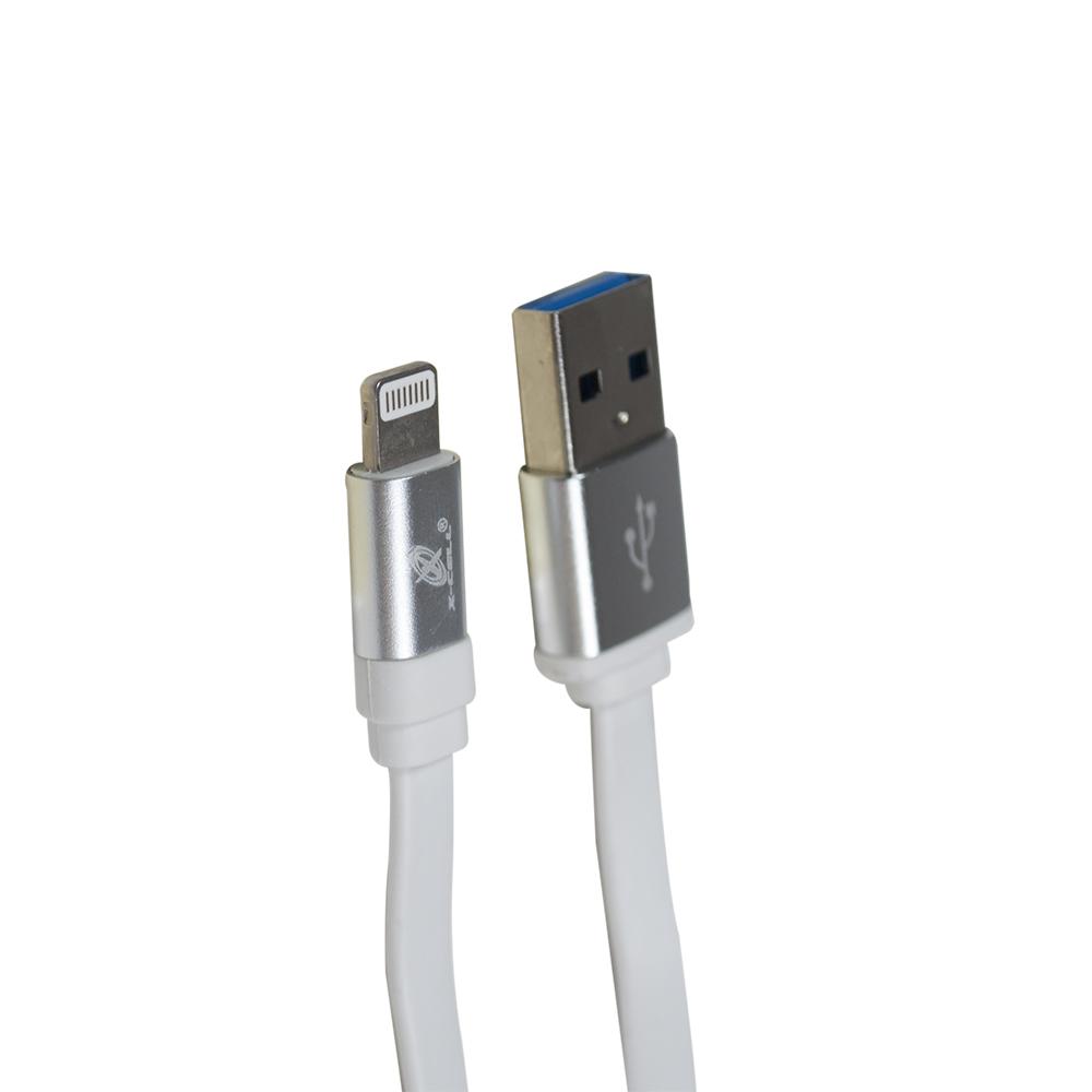 CABO DE DADOS USB  X IPHONE USB 1,2 METROS X-CELL XC-KT-14