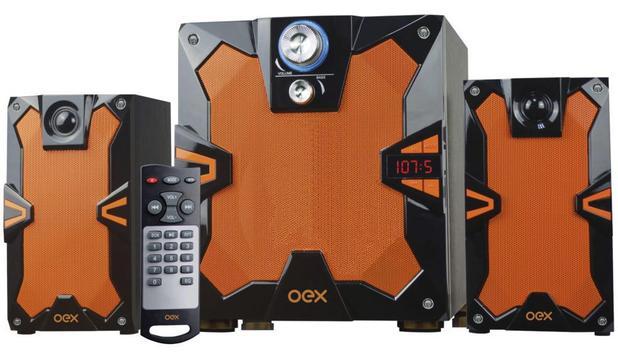 CAIXA DE SOM BLUETOOTH 135W OEX SK-501