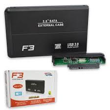 CASE PARA HD 2.5 USB 3.0 F3 CS-U3 PRETO