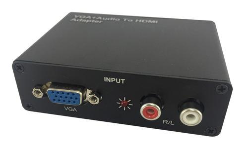 CONVERSOR VGA  X HDM COM AUDIO  FLEX XC-CV/VGAXHD