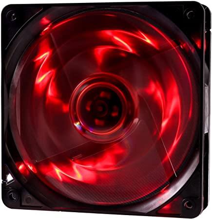 COOLER FAN 12X12 LED VERMELHO OEX F-10