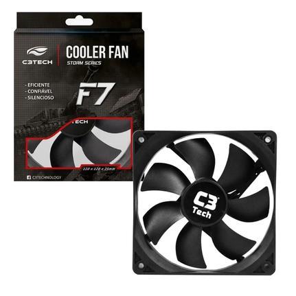 COOLER FAN 12X12 STORM C3TECH F7-100BK