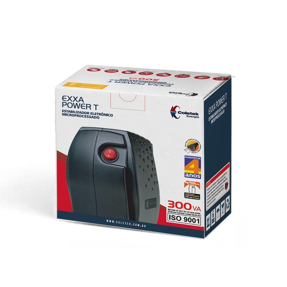 ESTABILIZADOR COLETEK EXS II POWER 500VA BIV/115