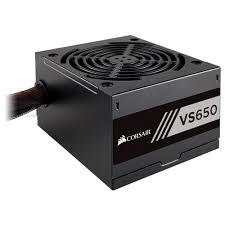 FONTE ATX 650W REAL 80 PLUS PFC ATIVO CORSAIR VS650