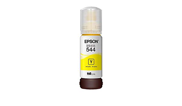 GARRAFA DE TINTA EPSON T544 65ML AMARELO