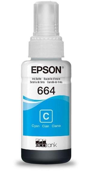 GARRAFA DE TINTA EPSON T66420-AL 70ML CIANO