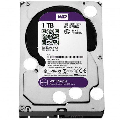 HD 01 TB SATA3 PURPLE WESTER DIGITAL 5400RPM WD10PURX