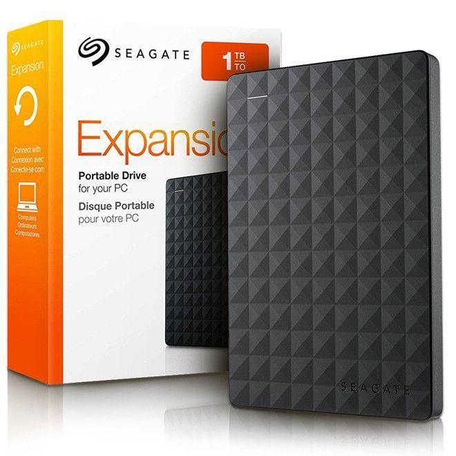HD EXTERNO 2,5 1TB USB 3.0 SEAGATE STEA1000400