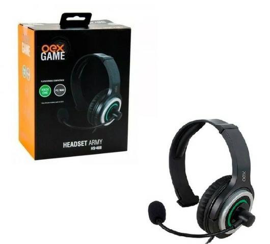HEADSET GAMER XBOX/PC/MAC OEX HS-408