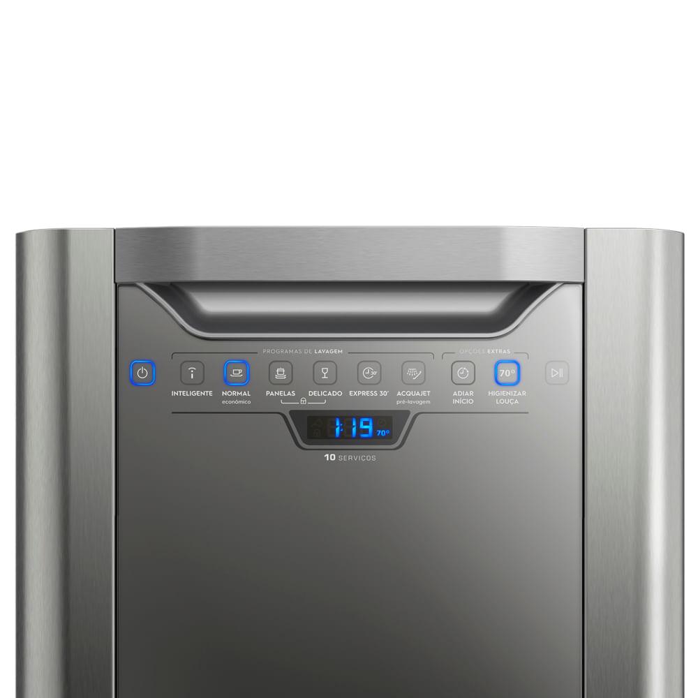 LAVA LOUCA ELECTROLUX INOX LV10X 220V