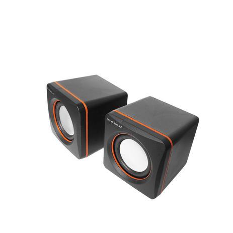 MINI CAIXA DE SOM USB 5W RMS X-CELL XC-CM-03 PRETA