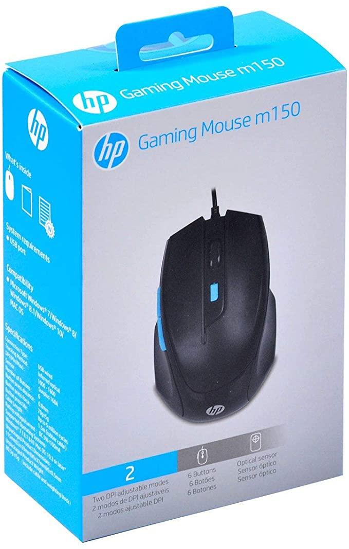 MOUSE USB GAMER 1600DPI HP M150 PRETO