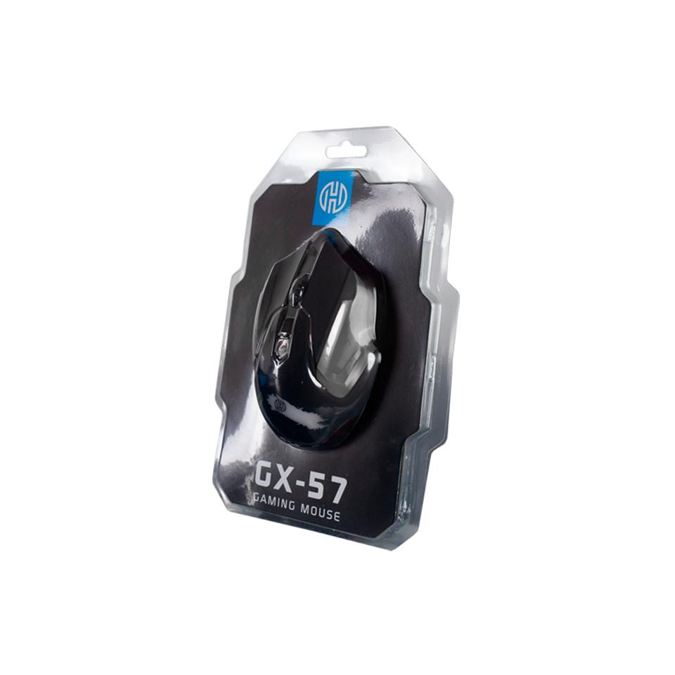 MOUSE USB GAMER 2400DPI HOOPSON GX-57 PRETO