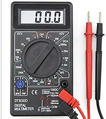 MULTIMETRO DIGITAL DT-830B MULTITOC