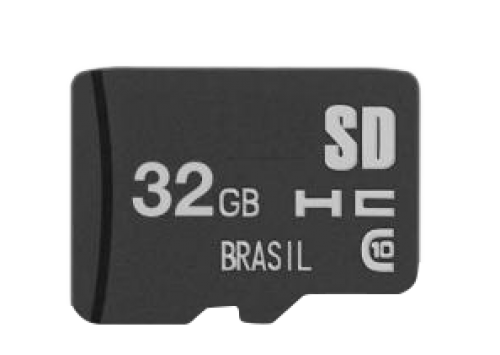 PEN DRIVE 32GB 2X1 LEITOR USB + CARTAO MICRO SD BRIGHT MC228