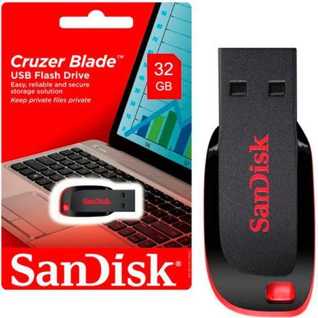 PEN DRIVE 32GB CRUZER BLADE SANDISK SDCZ50