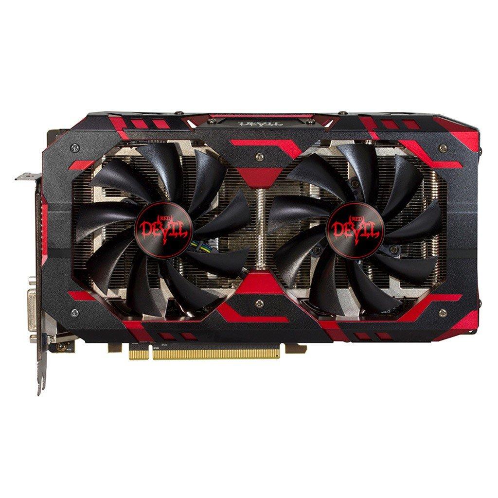 PLACA DE VIDEO PCI-E ATI RADEON RX580 08GB DDR5 256BI POWERCOL