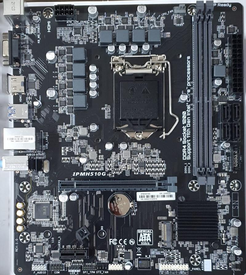 PLACA MÃE PCWARE IPMH510MG M.2 DDR4 SK-1200 (H510)