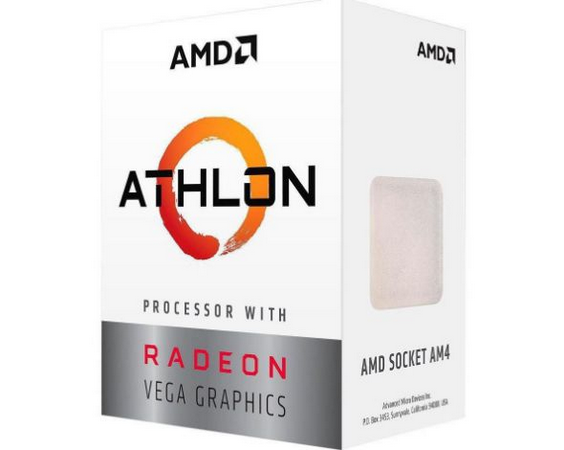 PROCESSADOR AMD ATHLON 200GE 3.2GHZ 5MB AM4 BOX