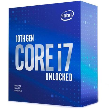 PROCESSADOR INTEL CORE I7 10700KF 3.8GHZ 16MB BOX LGA-1200