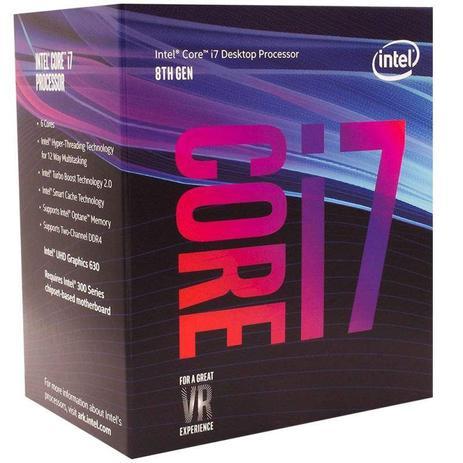 PROCESSADOR INTEL CORE I7 9700 3.0GHZ 12M BOX LGA-1151