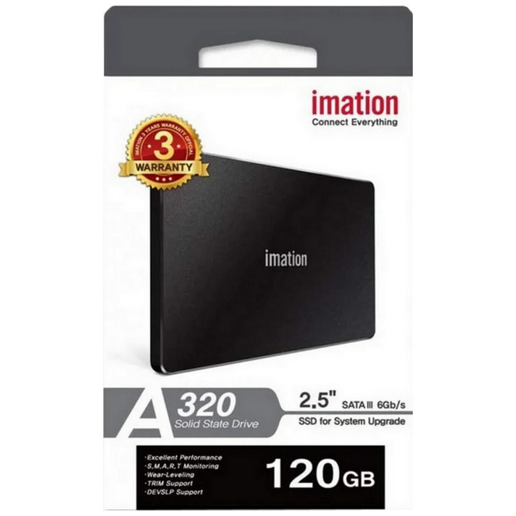 SSD INTERNO 2.5 120GB SATA 3 IMATION A320