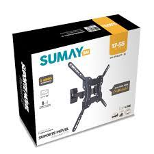 SUPORTE MOVEL ARTICULADO PARA TV 23/55 POLEGADAS SUMAY SM-SPMA2