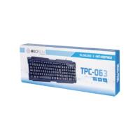 TECLADO USB HOOPSON TPC-063 PRETO