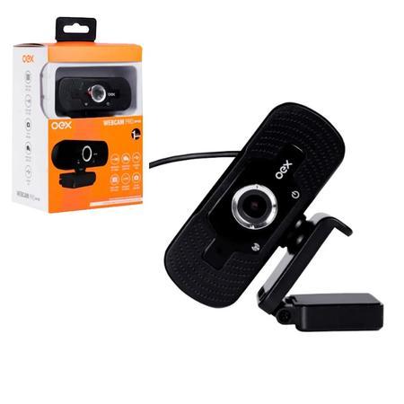 WEBCAM EASY 1080P USB 2.0 OEX W100 PRETO