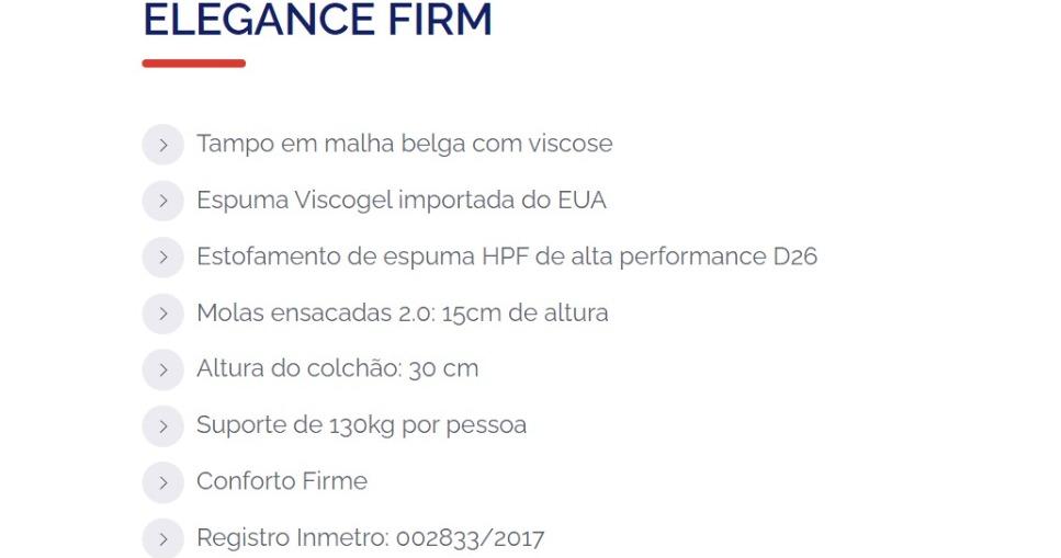 Colchão Apolo Elegance Molas Ensacadas 30cm - Starmoon