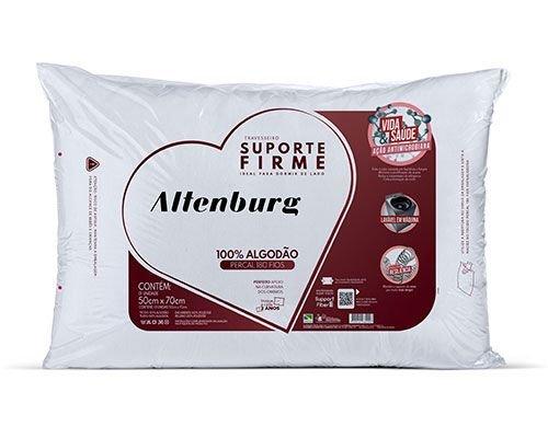 Travesseiro Altenburg Firme Percal 50x70 cm - Starmoon