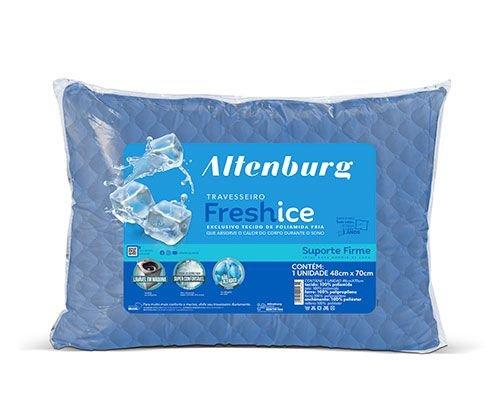 Travesseiro Altenburg Fresh Ice Azul 50x70 cm - Starmoon