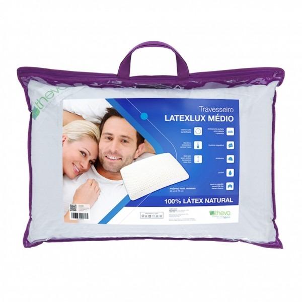 Travesseiro Copespuma Látex Lux Médio 50x70 - Starmoon
