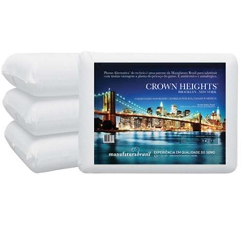 Travesseiro General Crown Heights 50x70 cm - Starmoon