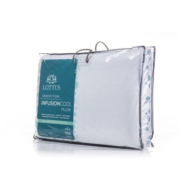 Travesseiro General Memory Foam Gel 40x60 cm - Starmoon