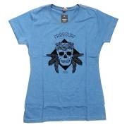 Blusinha Freesurf Skull Azul