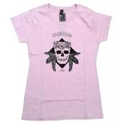 Blusinha Freesurf Skull Rosa