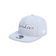 Boné New Era 9fifty Mlb New York Yankees Cinza